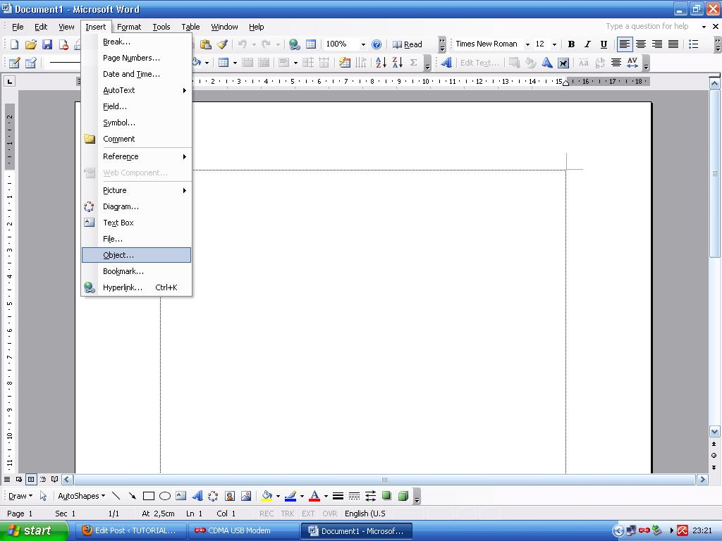 Membuat Tabel Di Ms Word Dengan Sheet Ms Excel