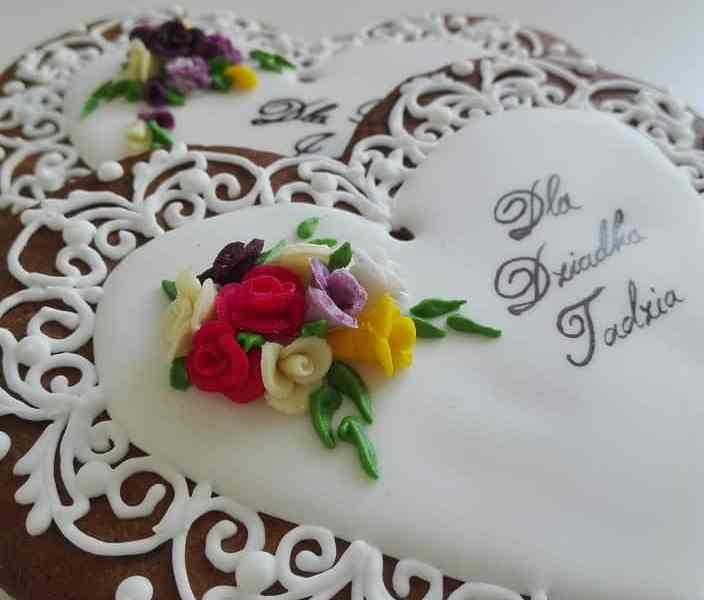 lukrowane ciasteczka na zamówienie, pierniczki dla Babci i Dziadka, ciastka