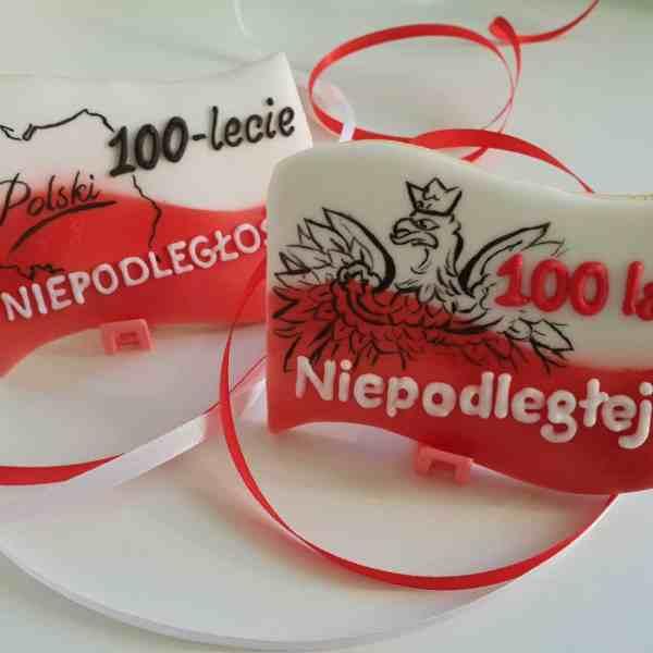 Lukrowane ciasteczka, 100 lat niepodległości, Polska Niepodległa - Basia sweets