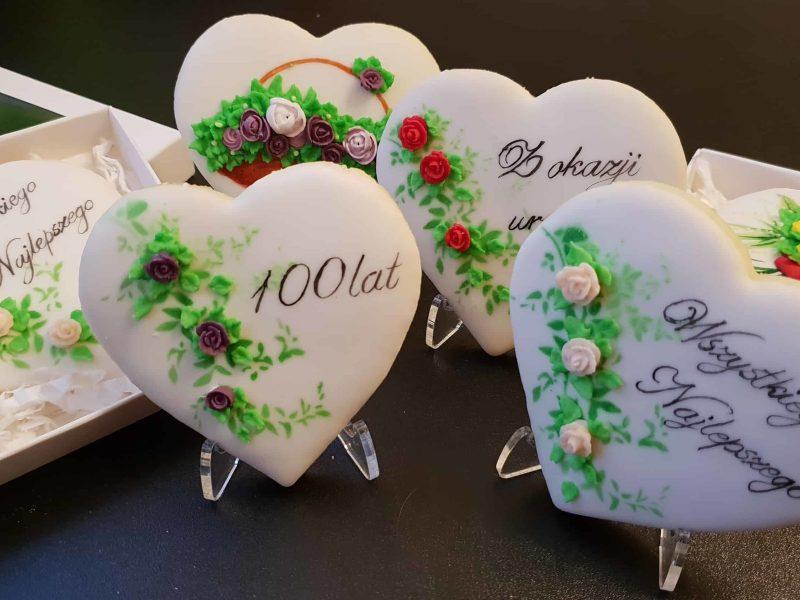 Lukrowane pierniczki dla Babci i Dziadka, Lukrowane ciasteczka urodzinowe Basia sweets