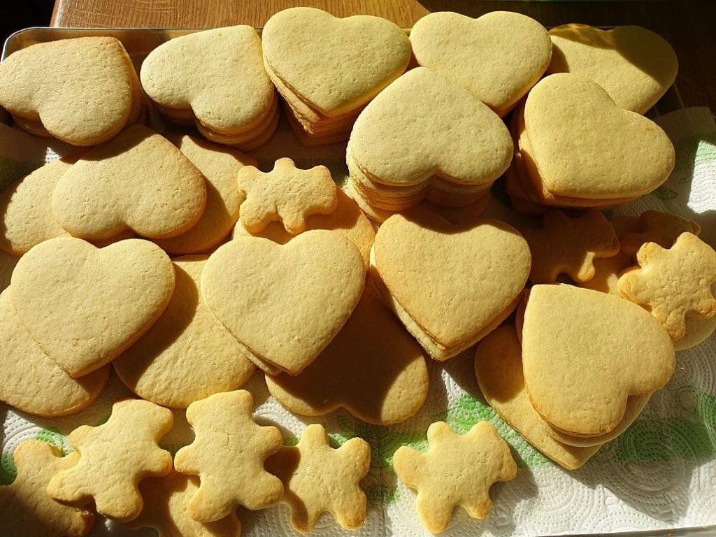 ciasteczka maślane, kruche ciasteczka - Basia sweets