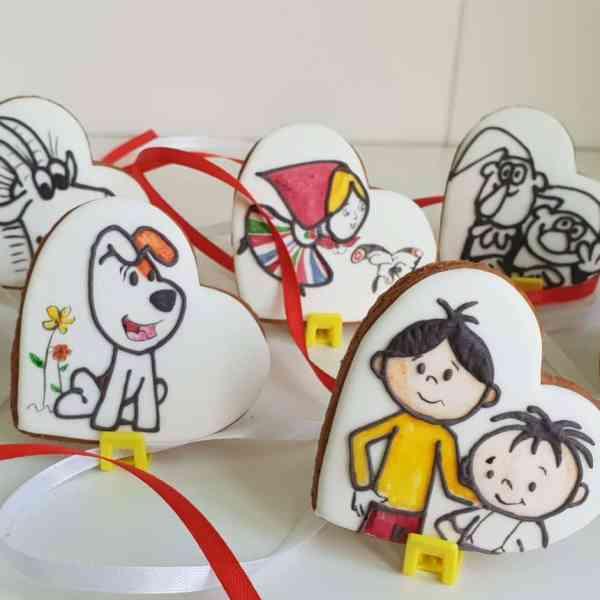 lukrowane ciasteczka na zamówienie - Basia sweets