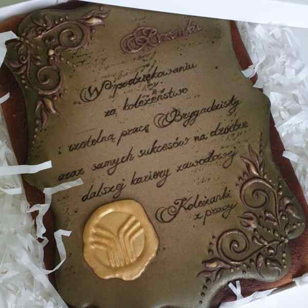 Pierniki dekoracyjne, podziękowania dla rodziców, podziękowania, lukrowane pierniczki - Basia sweets
