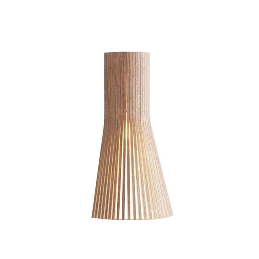 Vegglampe: Secto 4231 Vegglampe Valnøtt - Secto