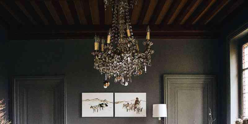 luksuriøse lysekroner til hjemmet