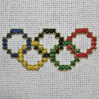 Olympic Rings Cross Stitch Pattern