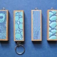Jenga Key Chains