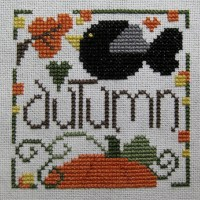 Just a Little Autumn Cross Stitch Pattern
