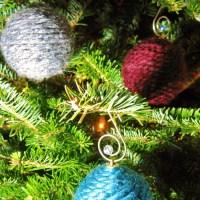 Recycled Yarn Ornaments