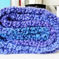 Homespun Thick and Quick Infinity Scarf Pattern for the Knifty Knitter Long Loom