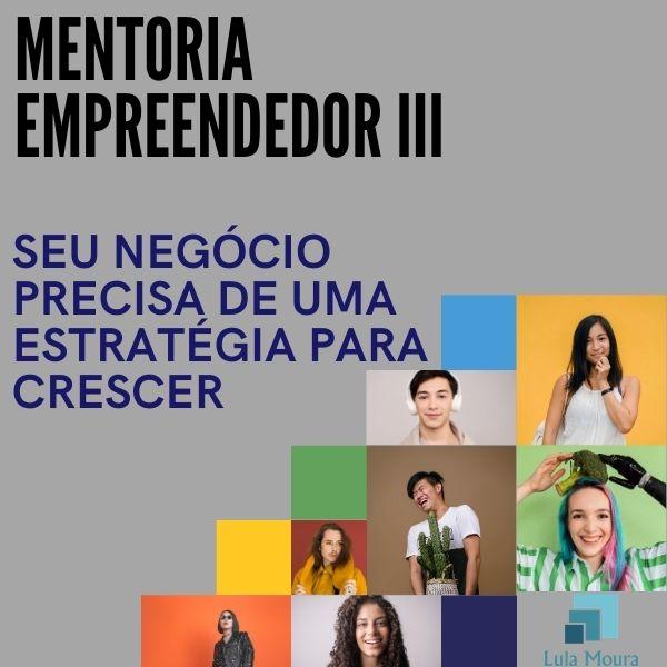 Mentoria Empreendedor III