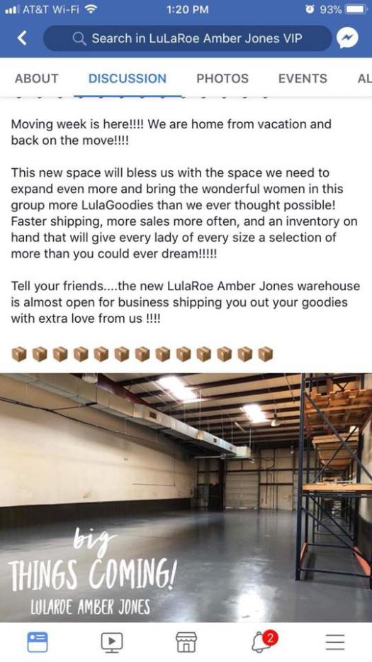 LuLaRoe retail location