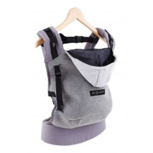 porte-bébé physiologique love radius hoodie carrier confortable facile à utiliser
