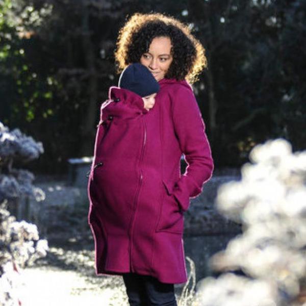 manteau de portage grossesse mamalila veste porte-bébé chaud hiver
