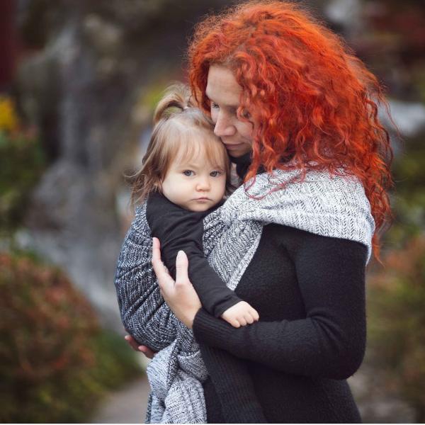 néobulle porte-bébé écharpe de portage fabriqué en france coton bio