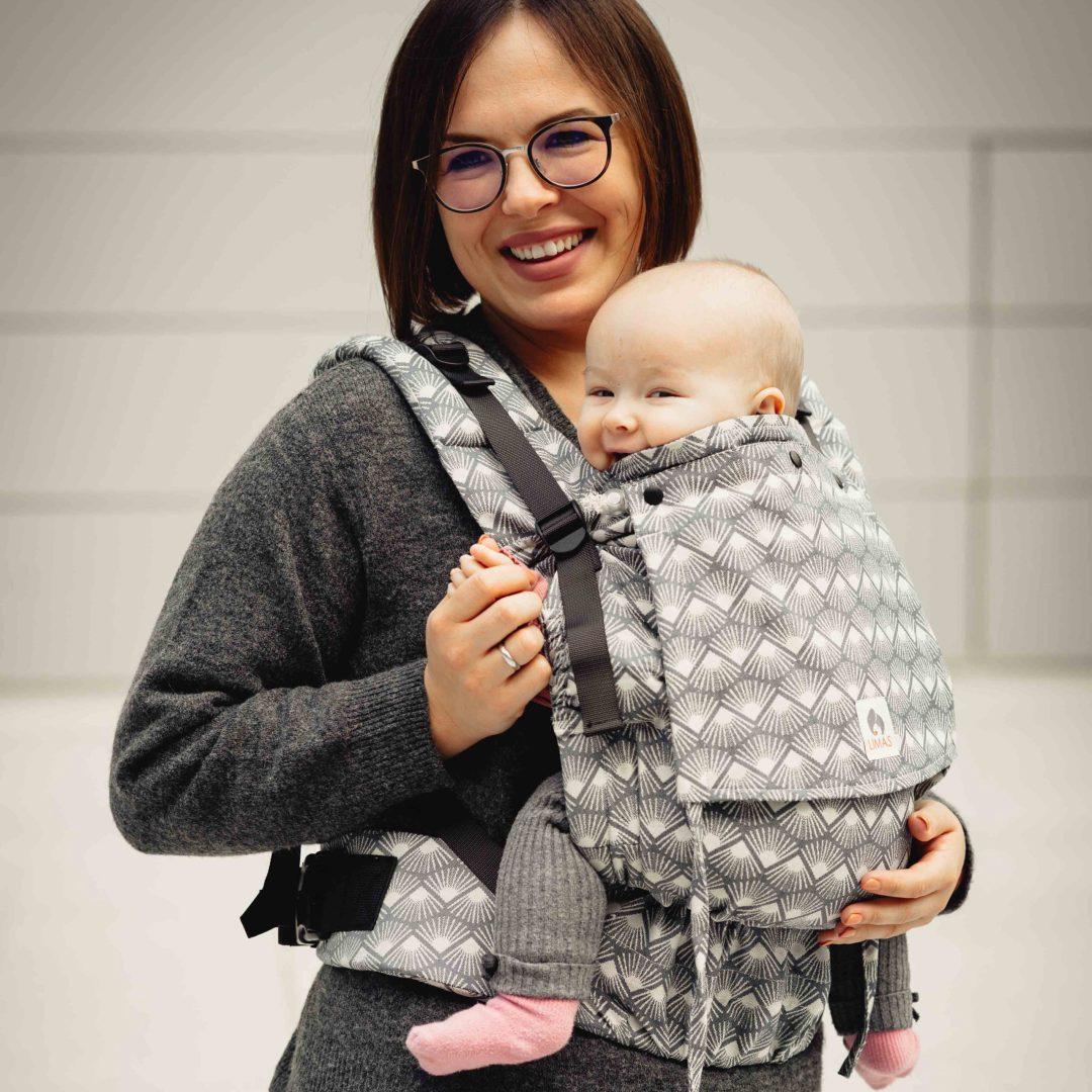 Porte-bébé Limas Flex Sunshine Monochrome dès la naissance