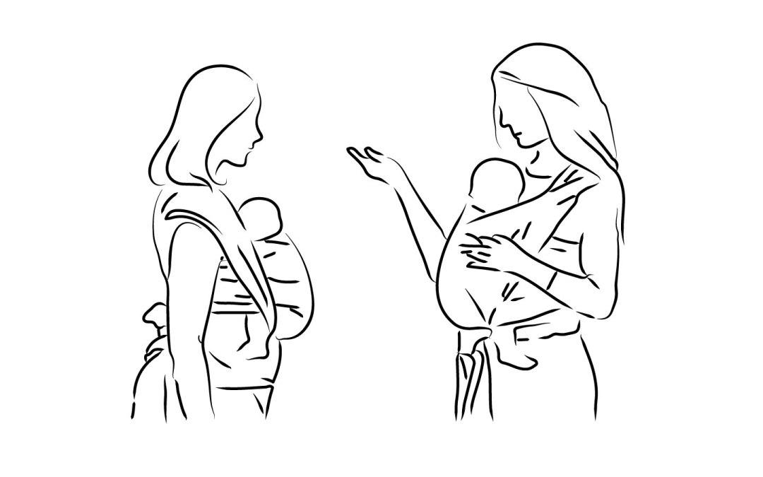 cours de portage bébé paris monitrice de portage certifiée