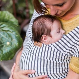 Echarpe de portage - Baby on Earth - Stripes