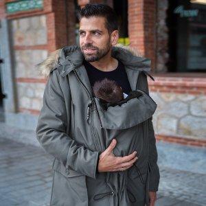 Manteau de portage pour homme - Wombat & Co - Bandicoot Gris