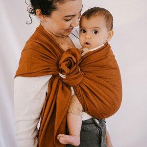 Sling - Bud & Blossom - Ambre portage bébé facile