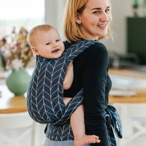 Porte-bébé hybride - Kavka - Handy - Marine Braid