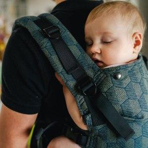 Porte-bébé physiologique - Kavka - Multi Age - Khaki Shade
