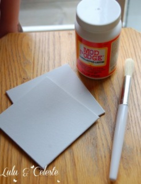 supplies for pressed flower activity