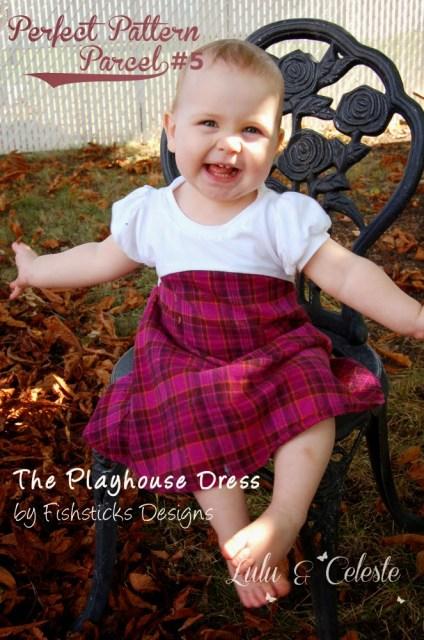 Playhouse Dress sewn by Lulu&Celeste