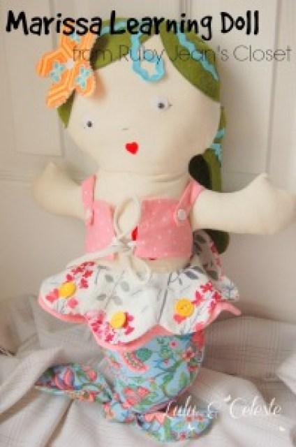 Marissa Learning Doll from Ruby Jean's Closet sewn by Lulu&Celeste