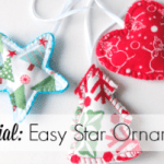Tutorial: Easy Star Ornament