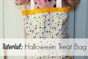 Halloween Tote Bag tutorial