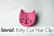 Kitty Cat Hairclip