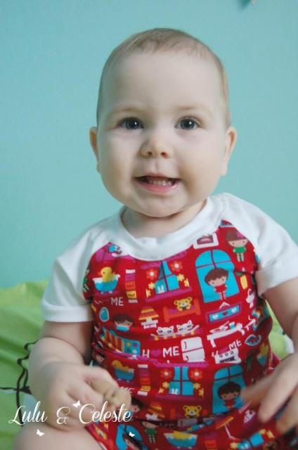 Riley pjs from EYMM sewn by Lulu & Celeste