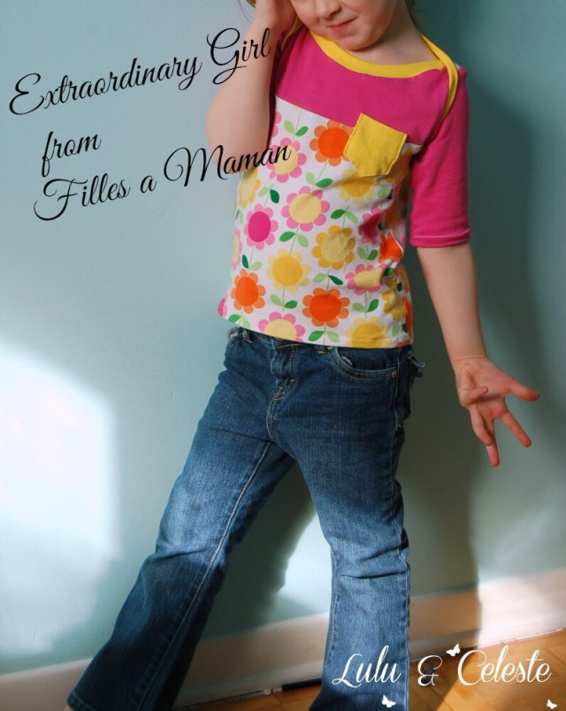 Extraordinary Girl sewn by Lulu & Celeste