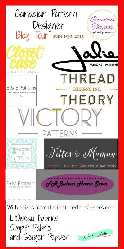 Canadian Pattern designer blog tour info