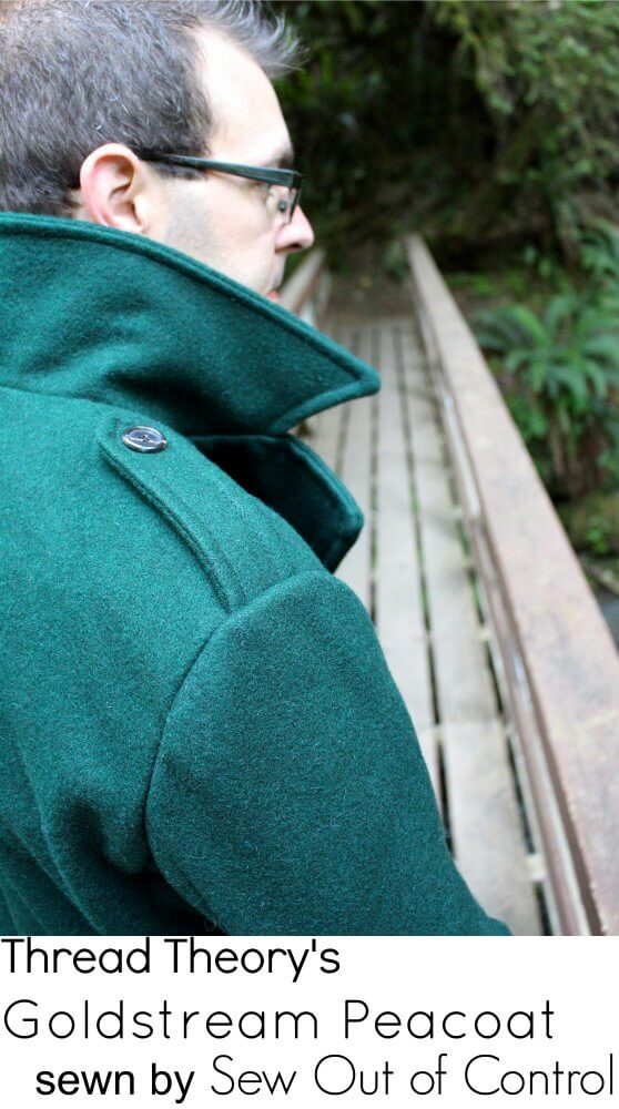 Goldstream Peacoat from Thread Theory sewn by Sew Out of Control