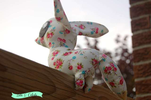 Desert Fox sewn by Lulu & Celeste