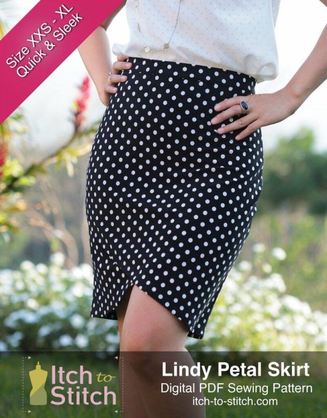 Itch to Stitch Sewing Pattern - Lindy Petal Skirt Free Pattern