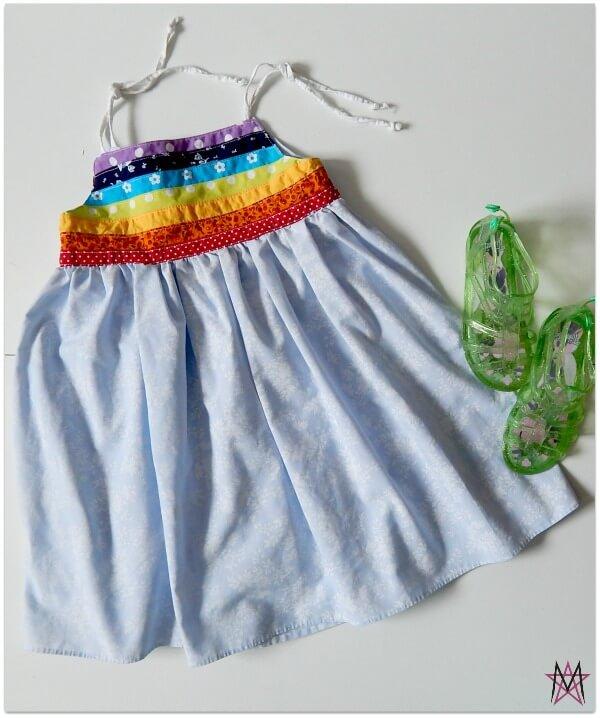 Magda - rainbow dress2
