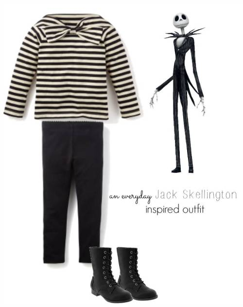 Six Degrees of Separation, A Sew the Show Tour: An Everday Jack Skellington Look
