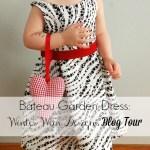 Winter Wear Designs Blog Tour – Bateau Garden dress