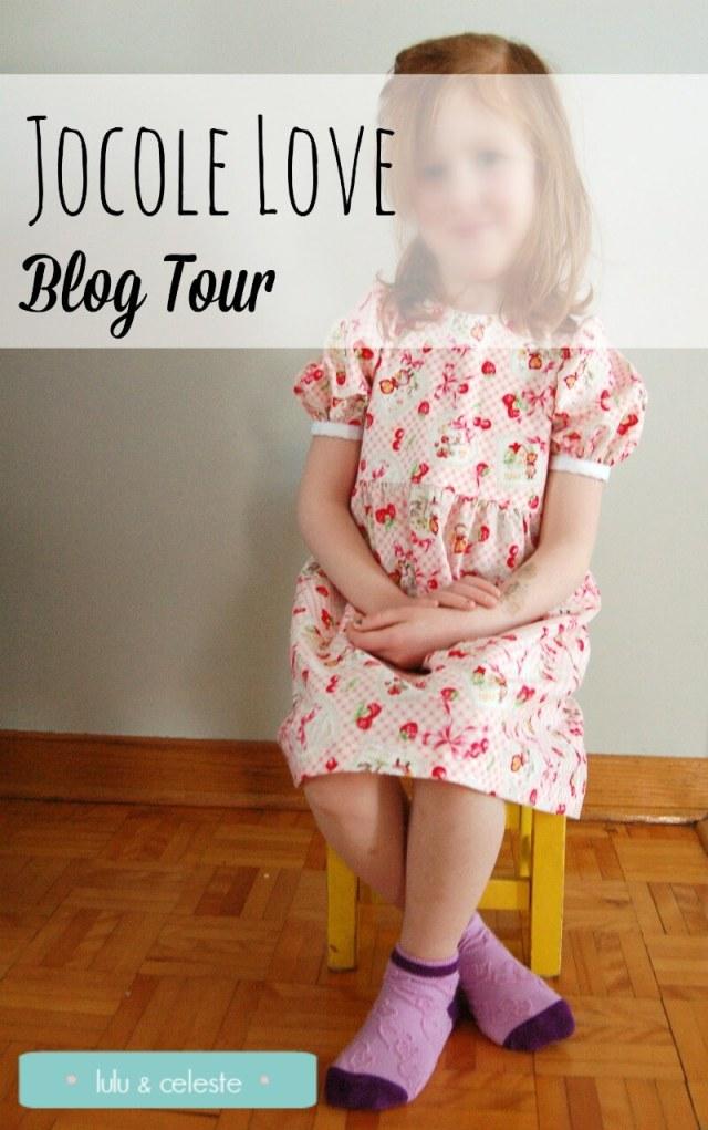 Jocole Endless Dress sewn by Lulu & Celeste