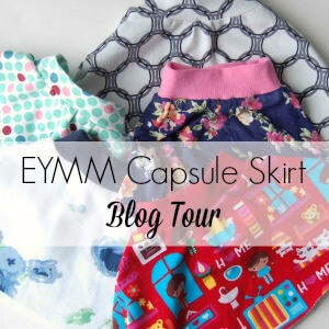 EYMM Capsule skirt blog tour