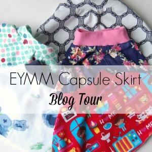 EYMM Capsule skirt blog tour