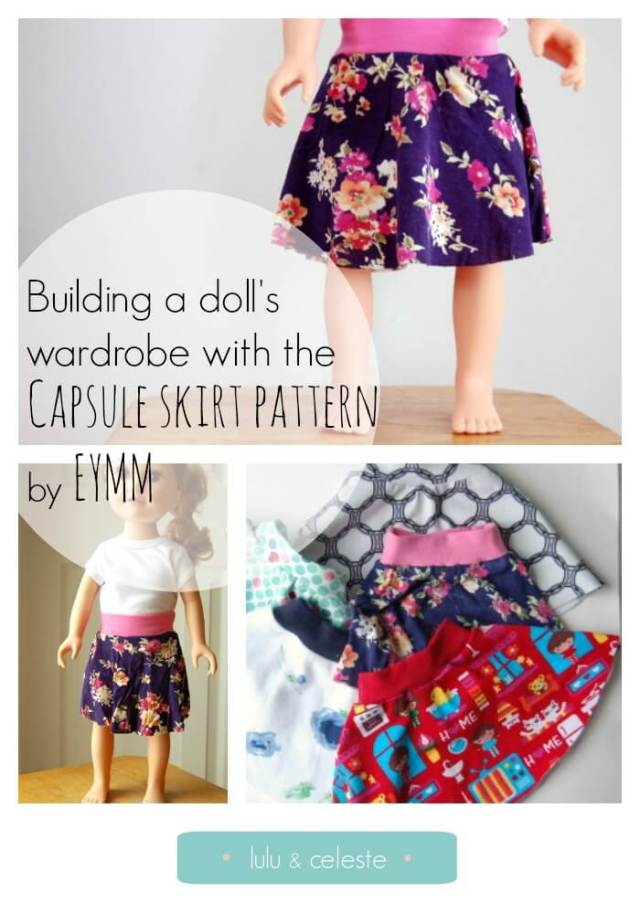 Capsule skirt pattern by EYMM