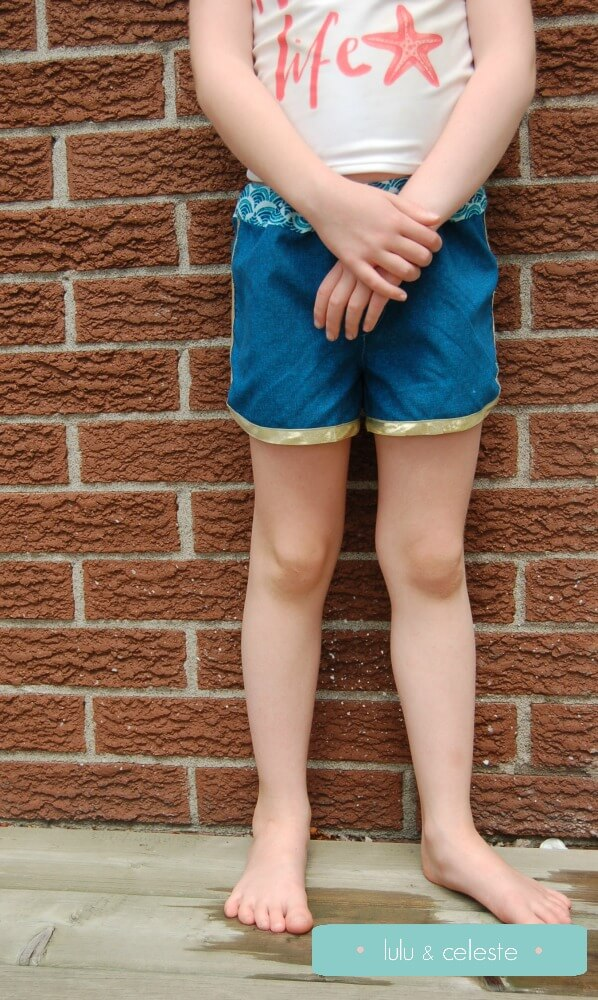 Swim and Surf Shorts sewn by Lulu & Celeste