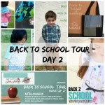 Back to School Tour Day 2: Clothing checklist, giveaways and more!