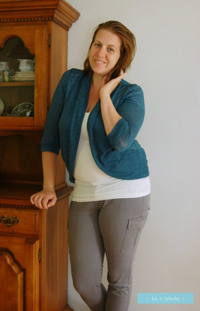 Sew Ready for Fall Tour: Julia cardigan with Stylish Fabrics