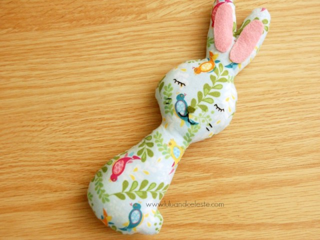 Mia the bunny softie with free download