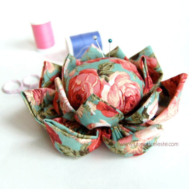 blossom flower pincushion